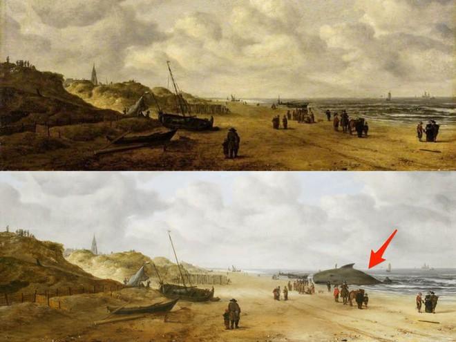 Bí ẩn thông điệp được ẩn giấu trong các bức tranh cổ nổi tiếng - Ảnh 8.