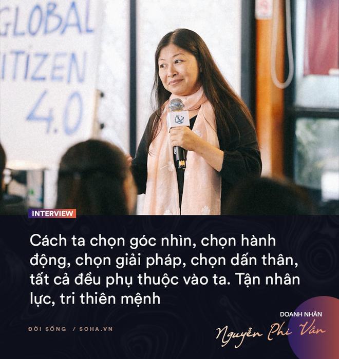 Doanh nhân Nguyễn Phi Vân: Cuộc sống có mục đích và ý nghĩa đều bắt đầu từ những việc nhỏ - Ảnh 7.