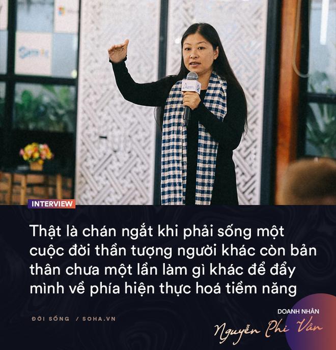 Doanh nhân Nguyễn Phi Vân: Cuộc sống có mục đích và ý nghĩa đều bắt đầu từ những việc nhỏ - Ảnh 12.