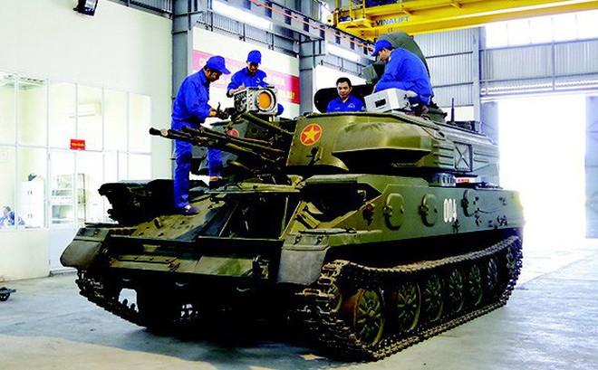 """Việt Nam gắn """"mắt thần"""" và tên lửa cho pháo phòng không ZSU-23-4, sức mạnh tăng lên gấp bội"""