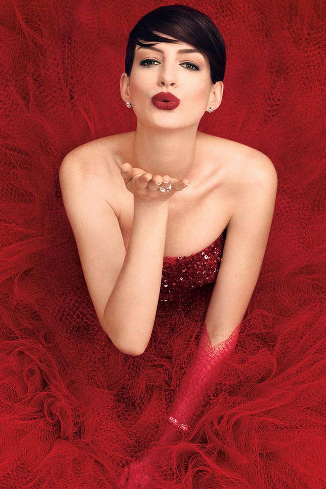 Nhan sắc nóng bỏng của nữ thần sắc đẹp đương đại Hollywood Anne Hathaway - ảnh 7