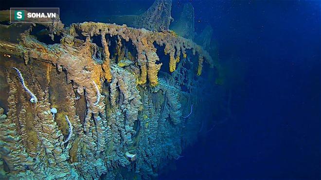 Chiêm ngưỡng lại vẻ đẹp của tàu Titanic trước khi nó biến mất hoàn toàn - Ảnh 4.