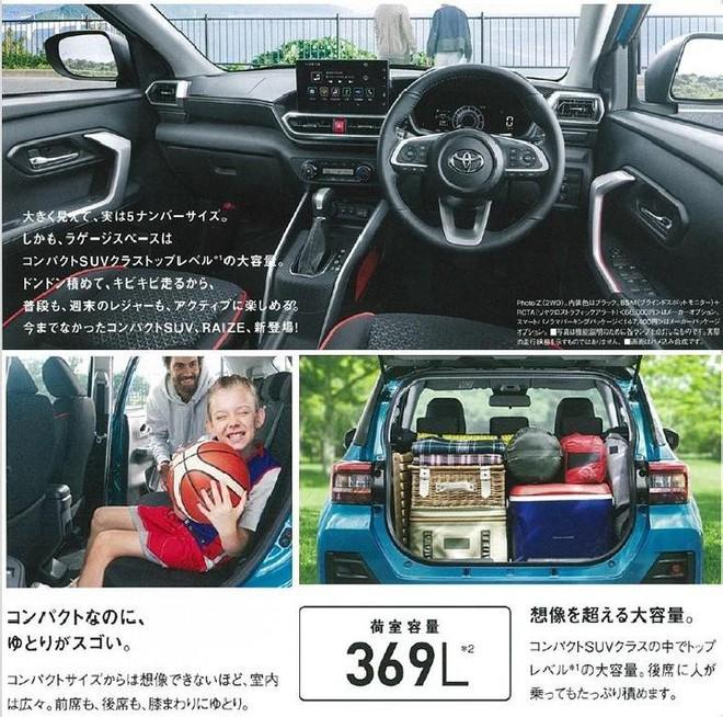 Thông tin chi tiết về chiếc xe SUV giá rẻ nhất của Toyota sắp ra mắt - Ảnh 5.