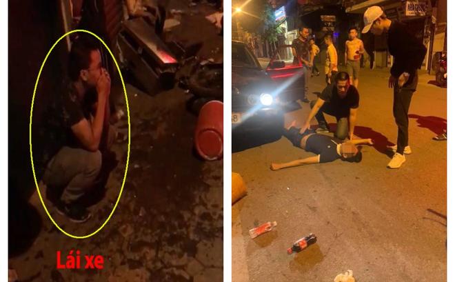 Xe BMW đâm liên hoàn trên phố Hà Nội: Các phương tiện nằm la liệt, tài xế ôm mặt thất thần