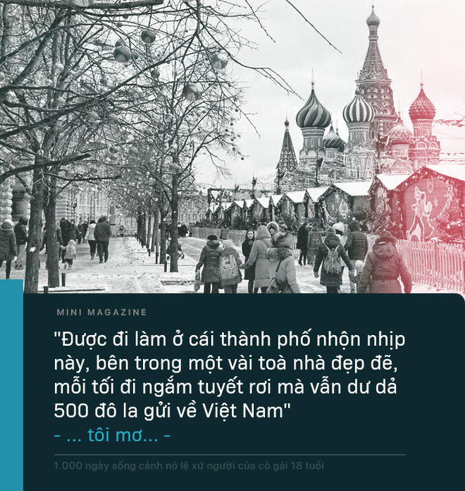 1.000 ngày sống cảnh nô lệ xứ người của cô gái 18 tuổi: 'Con chết mất… con muốn được về Việt Nam chết' - ảnh 10