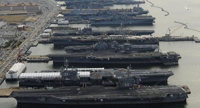 CẬP NHẬT: ĐSQ Mỹ ở Baghdad bị tấn công dồn dập - Toàn bộ tàu sân bay Mỹ lên dock, chưa từng có trong lịch sử - Ảnh 10.