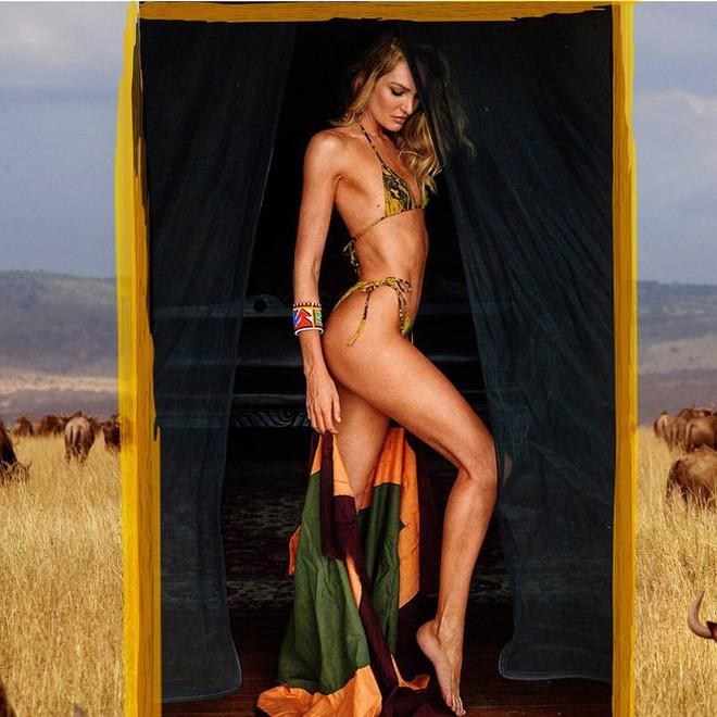 Ngắm biểu tượng gợi cảm Nam Phi diện bikini 'thiêu đốt' ánh nhìn - ảnh 3