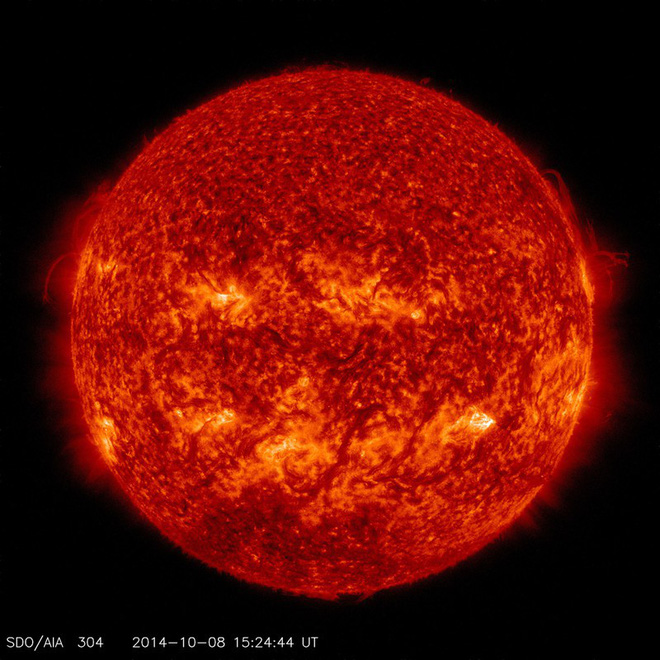 """NASA đăng ảnh Mặt trời bí ngô ma quái"""" chào Halloween - Ảnh 4."""
