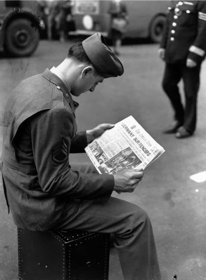 Ảnh hiếm về cuộc sống thường ngày trong Thế chiến II - Ảnh 9.