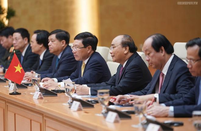 Thủ tướng Nguyễn Xuân Phúc chủ trì lễ đón Thủ tướng Campuchia Hun Sen - Ảnh 7.