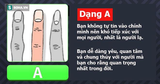 Dự đoán tính cách qua hình dáng ngón tay: Nếu đáp án là A thì bạn vô cùng mạnh mẽ - Ảnh 1.