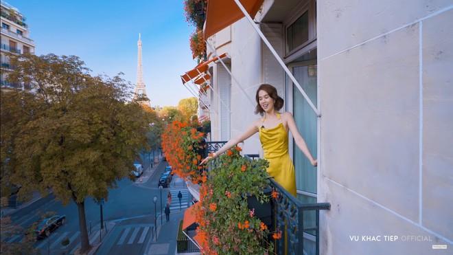 Vũ Khắc Tiệp dẫn Ngọc Trinh ở khách sạn Paris giá 110 triệu, ăn tối vài ngàn đô - Ảnh 5.