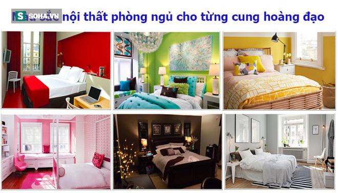 Chọn màu sắc nội thất phòng ngủ như thế nào thì hợp tính cách từng cung hoàng đạo? - Ảnh 1.