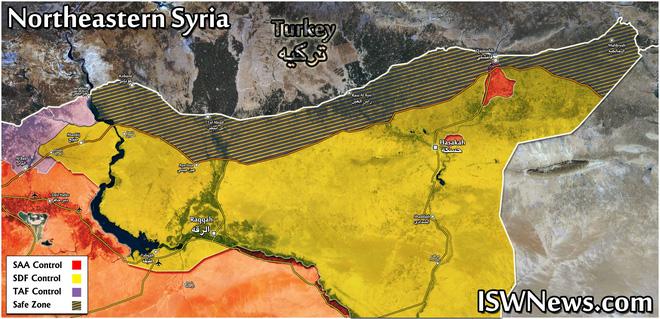Lính Mỹ bất ngờ tháo chạy khỏi miền Bắc Syria, bỏ mặc đồng minh - Thổ Nhĩ Kỳ chuẩn bị khai đao - Ảnh 21.