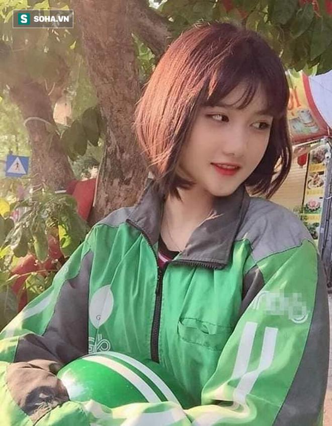 Nữ tài xế Grabbike 18 tuổi gây chú ý vì ngoại hình xinh đẹp, dễ thương - ảnh 1