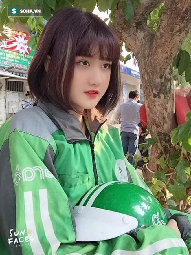 Nữ tài xế Grabbike 18 tuổi gây chú ý vì ngoại hình xinh đẹp, dễ thương - ảnh 2