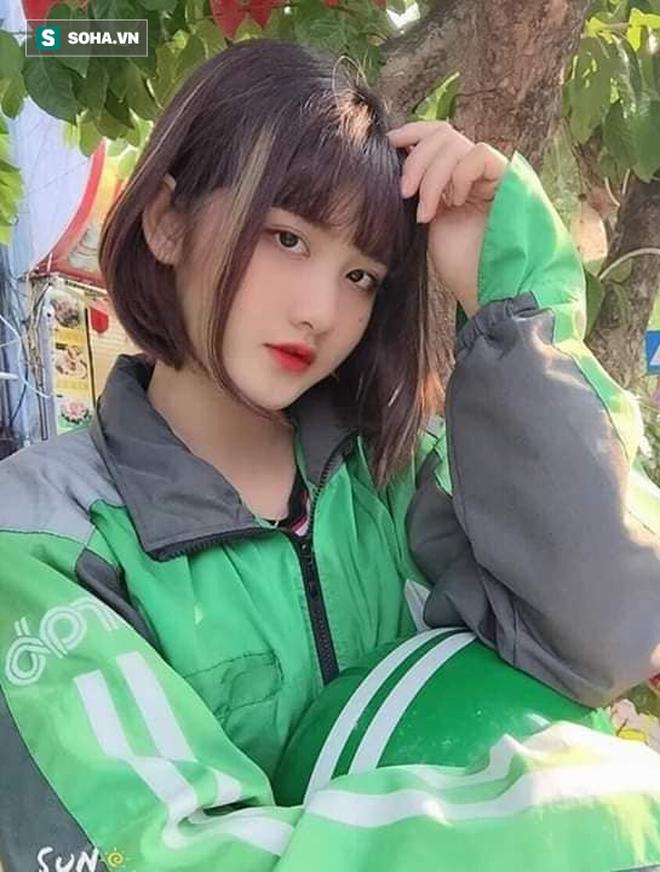 Nữ tài xế Grabbike 18 tuổi gây chú ý vì ngoại hình xinh đẹp, dễ thương - ảnh 3