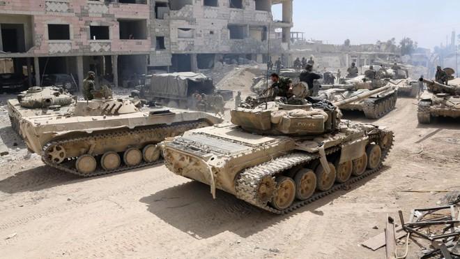 Sau quyết định chấn động TG của ông Putin: Lần lượt các vũ khí hiện đại xung trận ở Syria - Ảnh 3.