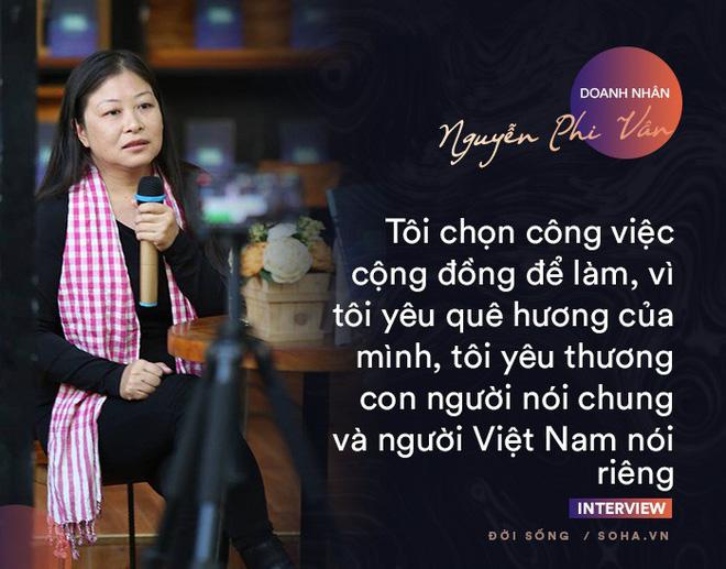 Doanh nhân Nguyễn Phi Vân: Cuộc sống có mục đích và ý nghĩa đều bắt đầu từ những việc nhỏ - Ảnh 3.