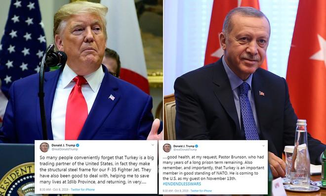 Thổ Nhĩ Kỳ 1 vốn 4 lời: Vừa sở hữu F-35, S-400, Su-57 lại có cơ hội đánh bại người Kurd? - Ảnh 1.