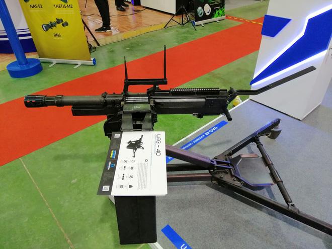 Ukraine chào hàng súng phóng lựu tự động mạnh hơn AGS-17 có trong biên chế QĐND Việt Nam - Ảnh 3.