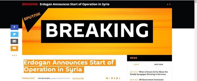 Thổ Nhĩ Kỳ chính thức tấn công vào Syria với quy mô lớn chưa từng có - Trung Đông rực lửa - Ảnh 10.