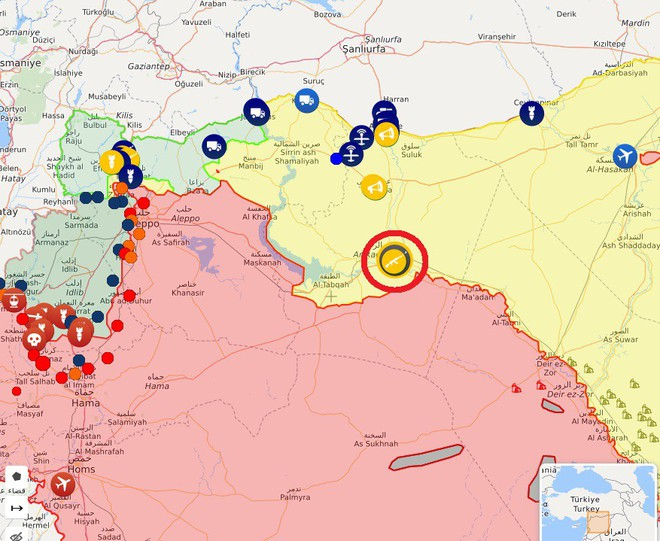 Thổ Nhĩ Kỳ chính thức tấn công vào Syria với quy mô lớn chưa từng có - Trung Đông rực lửa - Ảnh 23.