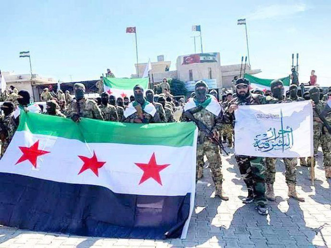 Thổ Nhĩ Kỳ chính thức tấn công vào Syria với quy mô lớn chưa từng có - Trung Đông rực lửa - Ảnh 24.