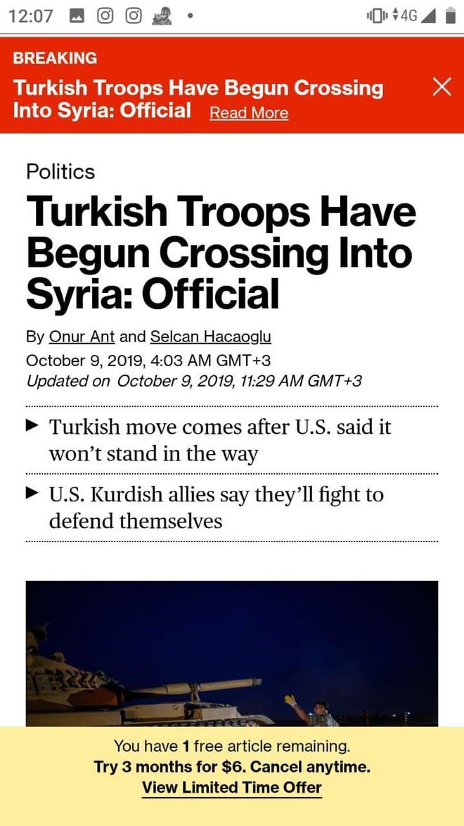 Thổ Nhĩ Kỳ chính thức tấn công vào Syria với quy mô lớn chưa từng có - Trung Đông rực lửa - Ảnh 14.