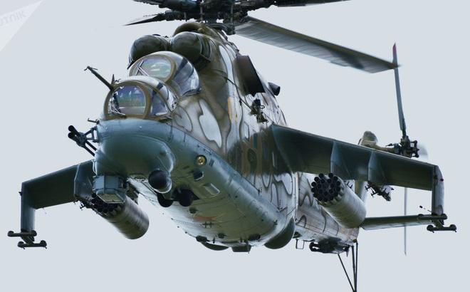 Mỹ sẽ mua trực thăng chiến đấu Mi-24 của Nga để đưa vào tập trận