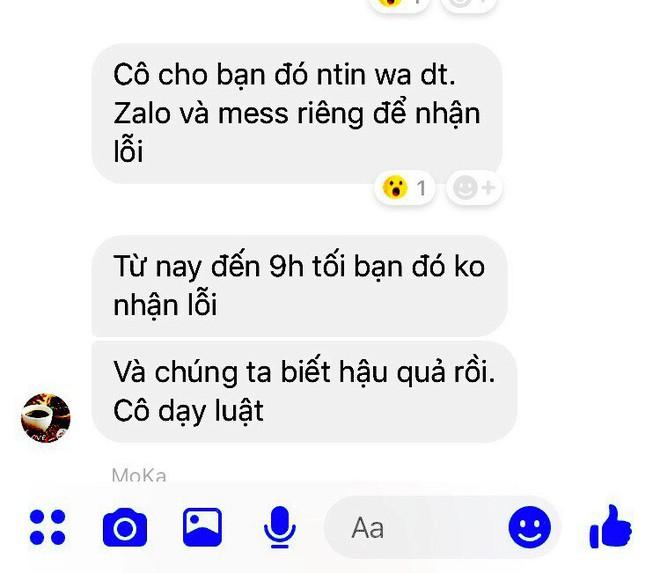 Cô giáo nhắn tin gợi ý thu tiền và đe doạ học sinh qua facebook bị kỷ luật - Ảnh 5.
