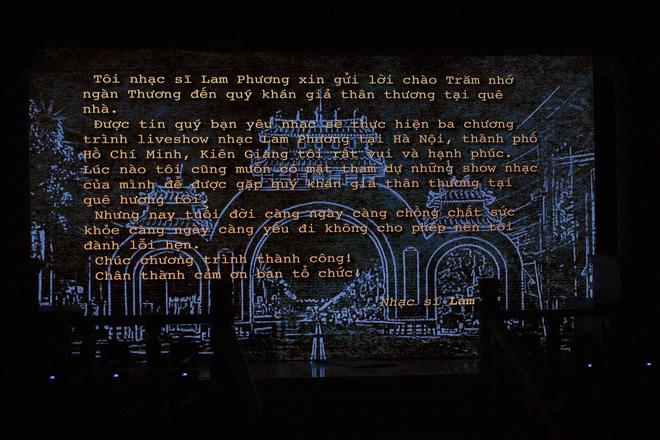 Nhạc sĩ Lam Phương tiếc nuối vì không thể về tham dự, Bằng Kiều, Thanh Hà hát thăng hoa - Ảnh 2.
