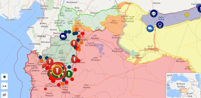 CẬP NHẬT: KQ Nga ồ ạt phóng tên lửa ở Idlib và Hama - Điều xấu nhất đã xảy ra, QĐ Syria giao chiến với Thổ Nhĩ Kỳ? - Ảnh 7.