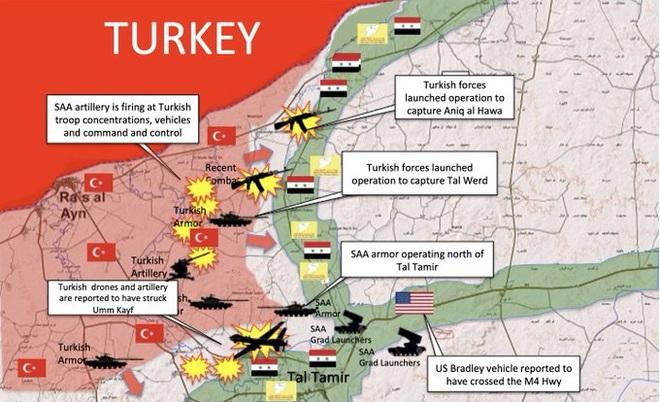 CẬP NHẬT: KQ Nga ồ ạt phóng tên lửa ở Idlib và Hama - Điều xấu nhất đã xảy ra, QĐ Syria giao chiến với Thổ Nhĩ Kỳ? - Ảnh 9.