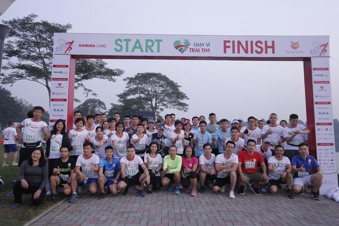 Hơn 9000 người tham gia Chạy vì trái tim - Ảnh 1.