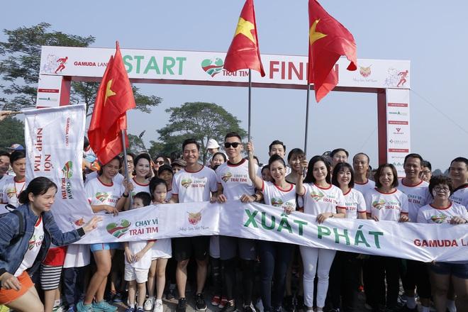 Hơn 9000 người tham gia Chạy vì trái tim - Ảnh 4.