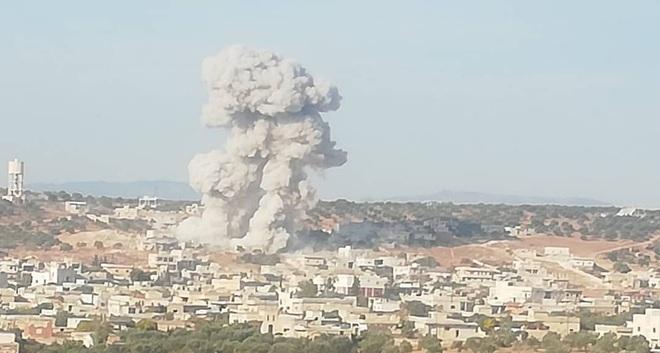CẬP NHẬT: KQ Nga ồ ạt phóng tên lửa ở Idlib và Hama - Điều xấu nhất đã xảy ra, QĐ Syria giao chiến với Thổ Nhĩ Kỳ? - Ảnh 6.