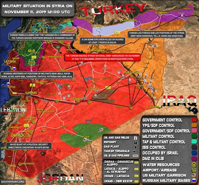 CẬP NHẬT: KQ Nga ồ ạt phóng tên lửa ở Idlib và Hama - Điều xấu nhất đã xảy ra, QĐ Syria giao chiến với Thổ Nhĩ Kỳ? - Ảnh 5.