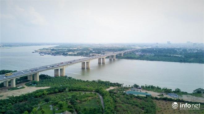 7 cây cầu huyết mạch ở Thủ đô - những dải lụa nhìn từ trên cao trong nắng - Ảnh 12.