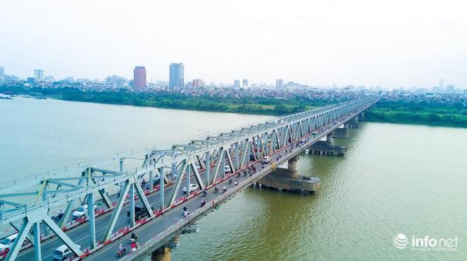 7 cây cầu huyết mạch ở Thủ đô - những dải lụa nhìn từ trên cao trong nắng - Ảnh 5.