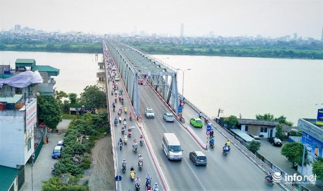 7 cây cầu huyết mạch ở Thủ đô - những dải lụa nhìn từ trên cao trong nắng - Ảnh 6.