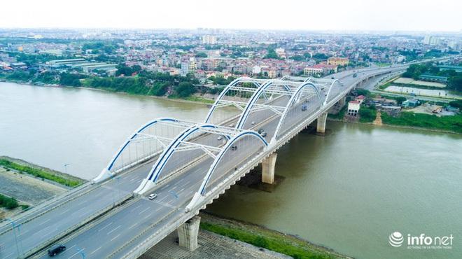 7 cây cầu huyết mạch ở Thủ đô - những dải lụa nhìn từ trên cao trong nắng - Ảnh 8.