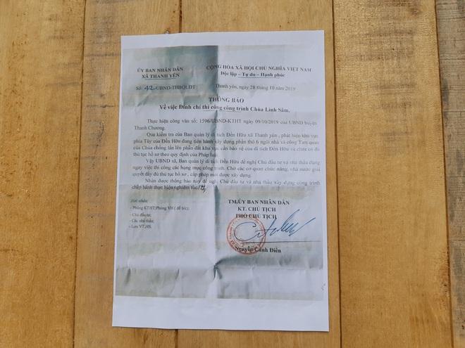 Ngôi chùa có mức đầu tư triệu đô xây trái phép, lấn đất của di tích cấp Quốc gia ở Nghệ An? - Ảnh 5.