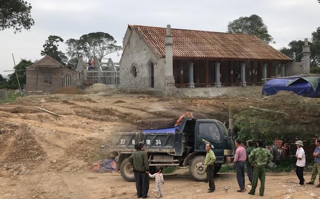 Ngôi chùa có mức đầu tư triệu đô xây trái phép, lấn đất của di tích cấp Quốc gia ở Nghệ An?
