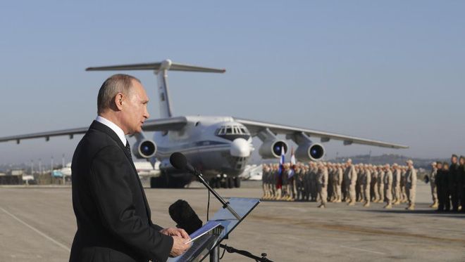 Su-35 Nga truy sát F-16 Thổ, diệt UAV Israel: Xứng tầm trùm ở Syria, Su-30SM đi đâu? - Ảnh 5.