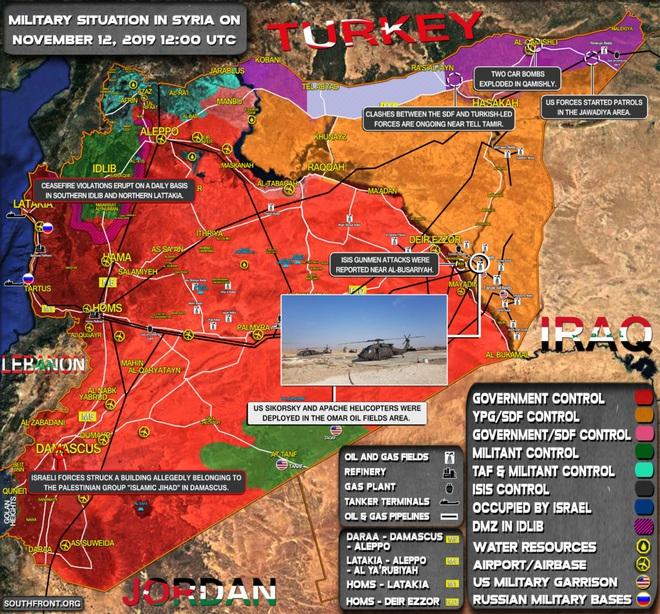 CẬP NHẬT: Tên lửa tấn công rung chuyển Syria, Israel hứng cơn mưa rocket - Tàu ngầm Nga áp sát bờ biển Israel - Ảnh 1.