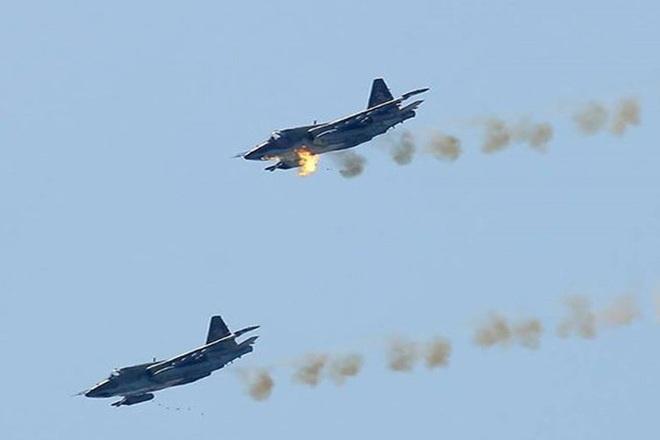 Nga âm thầm cho Su-25 trực chiến, sẵn sàng trút hỏa lực vào biên giới Syria-Thổ Nhĩ Kỳ - Ảnh 11.
