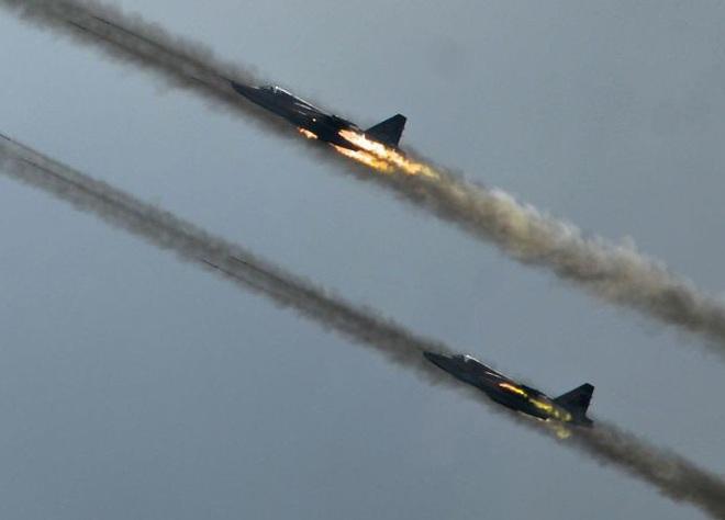 Nga âm thầm cho Su-25 trực chiến, sẵn sàng trút hỏa lực vào biên giới Syria-Thổ Nhĩ Kỳ - Ảnh 13.