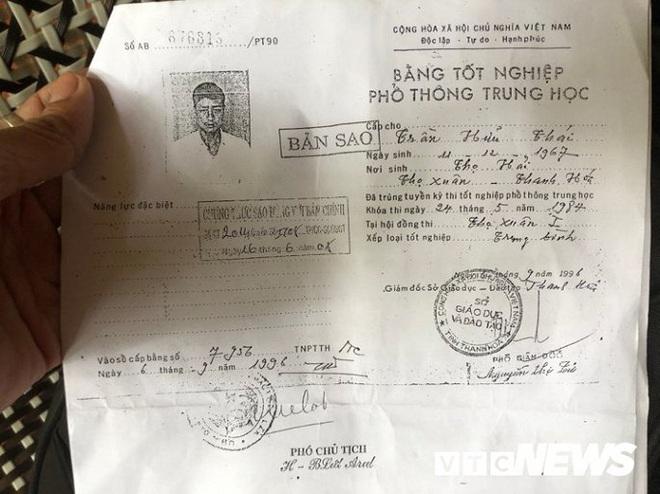 Đắk Lắk kết luận về bằng cấp 3 kỳ lạ của Trưởng phòng Nội vụ huyện: Ông Thái bị oan do lỗi đánh máy - Ảnh 2.