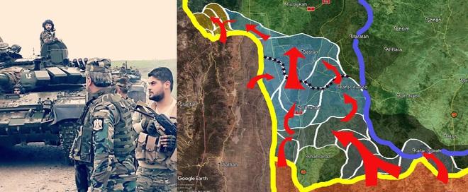 Lò thiêu người ở Tell Tamr: Màn ra mắt kiểu Nga của Quân đoàn 5 QĐ Syria? - ảnh 2